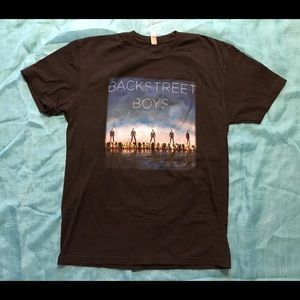 Backstreet Boys 2013 Tour T Shirt Medium
